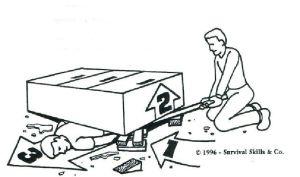 rescue cribbing victim removal