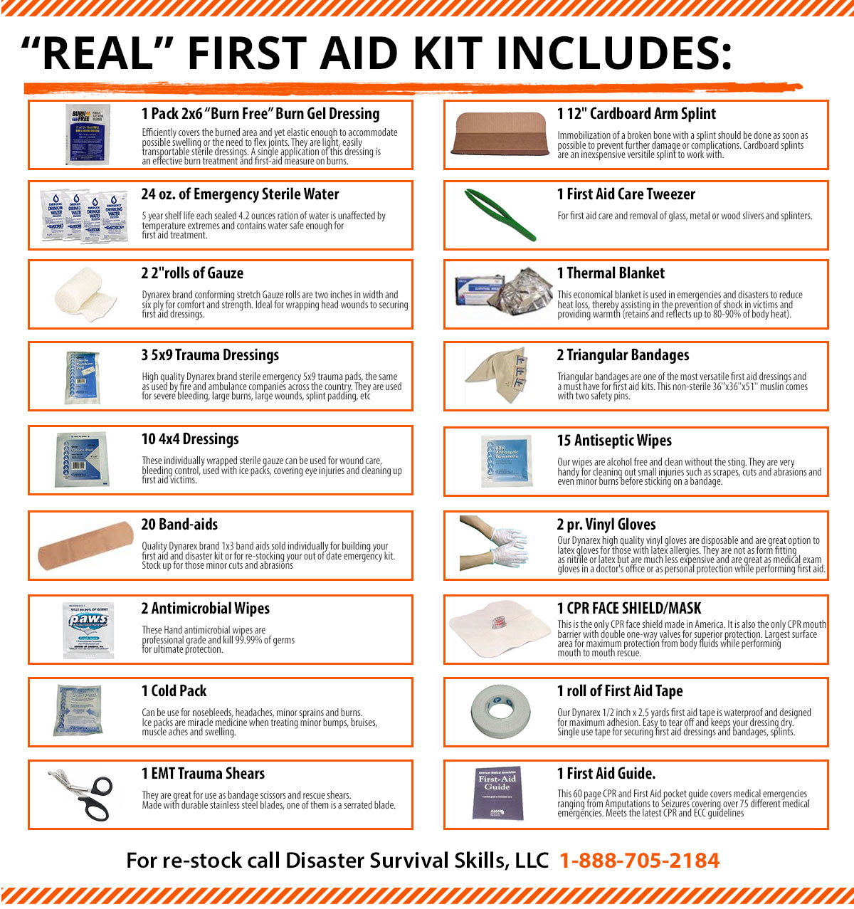 Real first aid kit bag with an easy to follow first aid download real first aid kit contents here 1betcityfo Images