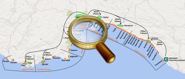 Города турции на средиземном море