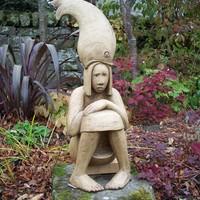 Fishy tales in garden