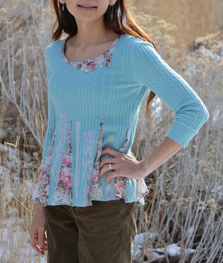 Переделка старых свитеров в модные своими руками