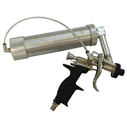 Pneumatic seam sealer gun