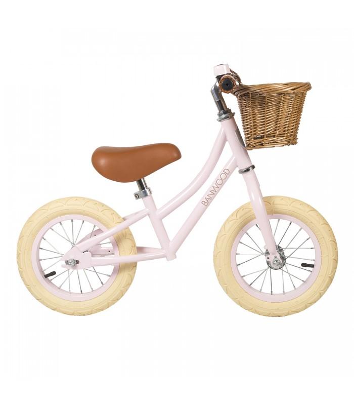 Pink toddler bike