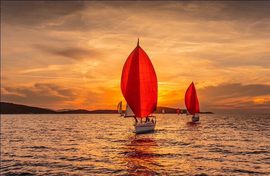 Морской закат. Фото Сергея Анашкевича