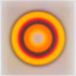 HC Berg, Color space – Imploded 2 Sky blue / Orange Ring