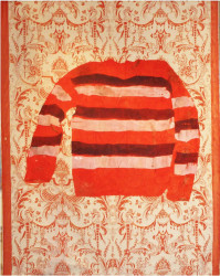 Shezad Dawood, RED, WHITE AND BLUE JUMPER, 2017
