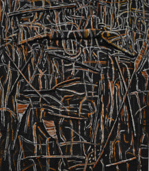 Theo Kuijpers, Trees after Bush Fire