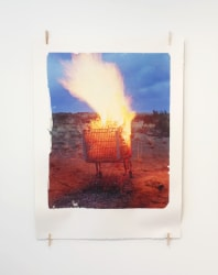 Ethan Rafal, Burning Shopping Cart in New Mexico
