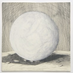 Lenneke van der Goot, Untitled (Sculpture of a Ball)