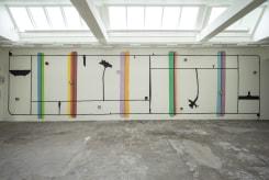 Michel Hoogervorst, Wandschildering