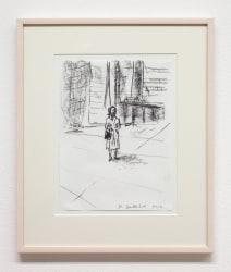 Stephan Balkenhol, Drawing
