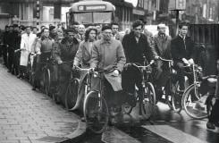 Eddy Posthuma de Boer, Haarlemmerplein, november 1957