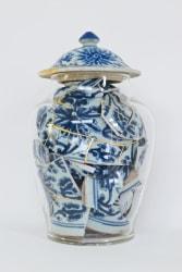 Bouke de Vries, Memory vessel with Kintsugi