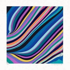 Ian Davenport, Diagonals (Evening)