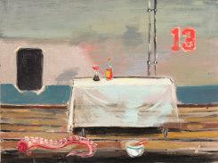 Aaron van Erp, Stilleven met tentakel en Kikkomansaus