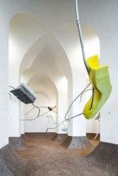 Lisa Sebestikova, Forming Fluidity, installatie Beelden aan Zee