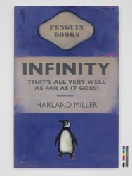 Harland Miller, Infinity That's All Very Well as Far as It Goes!