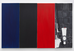 Juliette Blightman, Blue, Black, Red, Apple