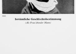 Pauline Boudry & Renate Lorenz, Irrtümliche Geschlechtsbestimmung