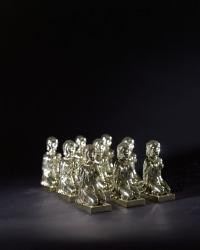 Daan Paans, Artefact #7: Polyresin/fake golden finish ...