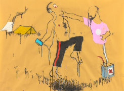 Art on Paper Brussel, Raquel Maulwurf, Ruri Matsumoto, Aaron van Erp