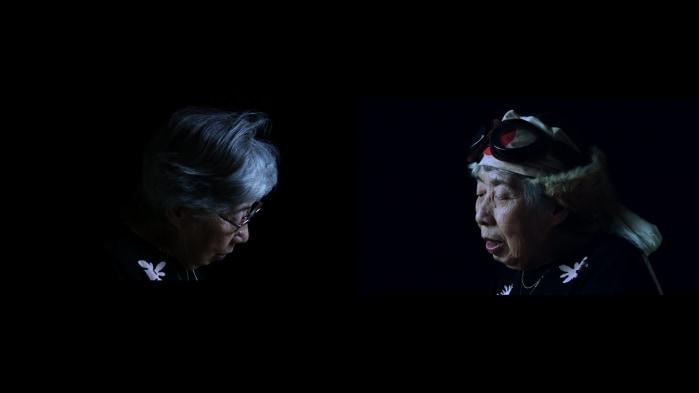 Meiro Koizumi, Double Projection #2 (When Her Prayer Was Heard)