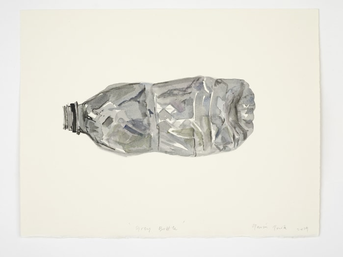 Gavin Turk, Grey Bottle