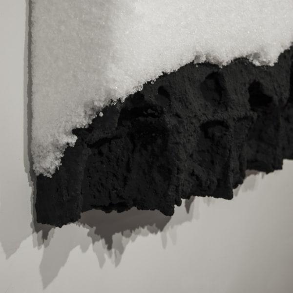 Kees de Vries, Zeezout over zwart relief