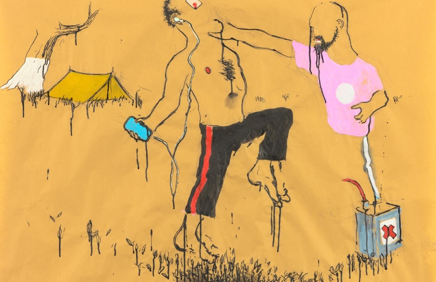 Art on Paper Brussel, Aaron van Erp, Raquel Maulwurf, Ruri Matsumoto,