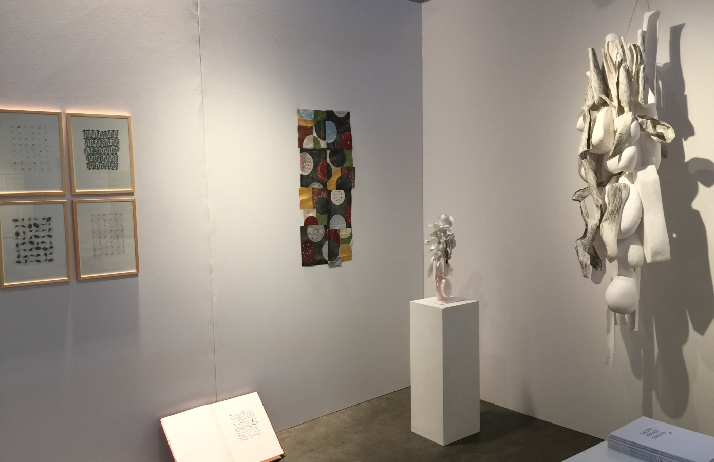 Art on Paper 2019, Karin Westendorp, Katrien Vogel, Marian Bijlenga,
