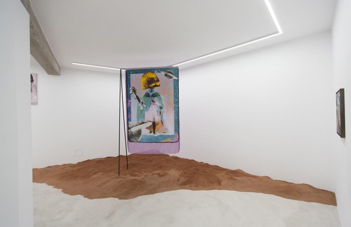 Art Rotterdam 2020, Raphaël Barontini,