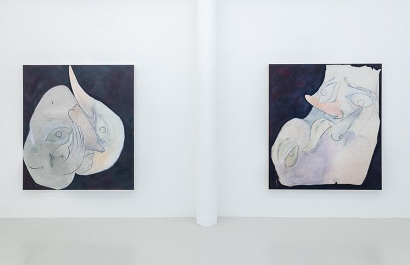 Art Rotterdam 2020, Carlotta Bailly-Borg, Elissa Lacoste, Natacha Mankowski, Tom Volkaert,