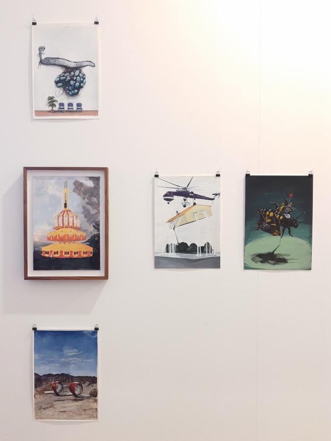 Drawing Room Madrid 2020, Lawrence James Bailey, Raymond Lemstra, Toni van Tiel,
