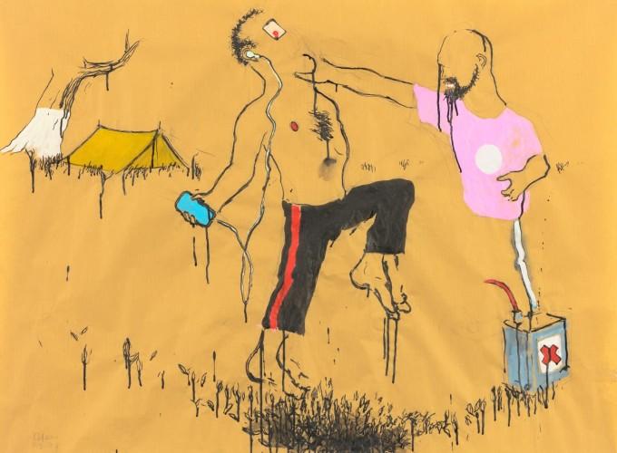 Art on Paper Brussel, Raquel Maulwurf, Ruri Matsumoto, Aaron van Erp,