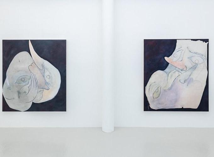 Art Rotterdam 2020, Natacha Mankowski, Tom Volkaert, Elissa Lacoste, Carlotta Bailly-Borg,