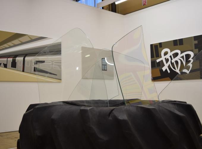 Art Rotterdam 2020, Ronald de Bloeme, Jurriaan Molenaar, Carel Visser, Marinus Boezem,