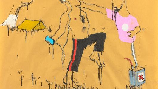 Art on Paper Brussel, Raquel Maulwurf, Ruri Matsumoto, Aaron van Erp, Livingstone gallery