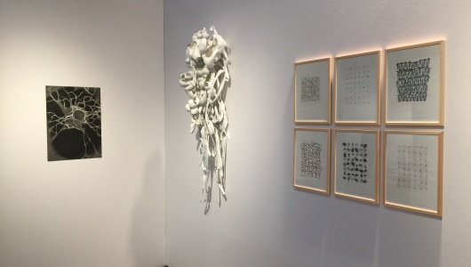 Art on Paper 2019, Katrien Vogel, Marian Bijlenga, Karin Westendorp, Galerie Franzis Engels