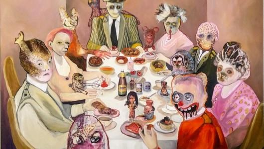 Freaks und Strangers, Juliane Hundertmark, Susanne Ring, Galerie Fontana