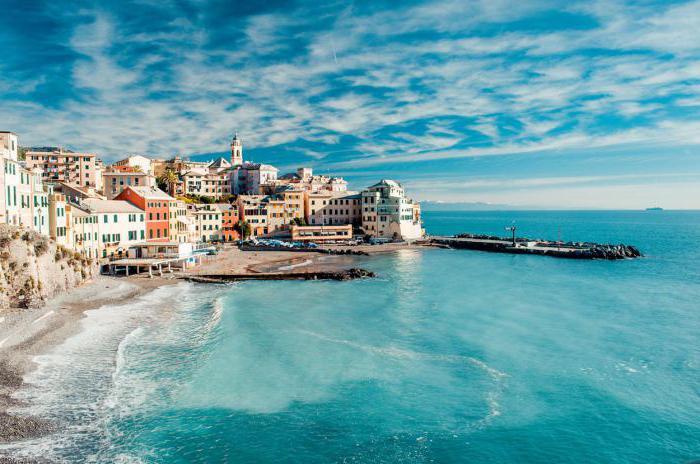 Самое теплое море италии