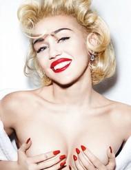 Голая актриса, певица Miley Cyrus фото, эротика, картинки - фотосессия из мужского журнала GQ на Xuk.ru! Фото 7