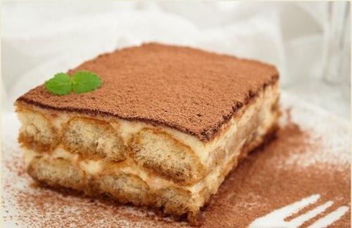 Бисквит для тирамису в домашних
