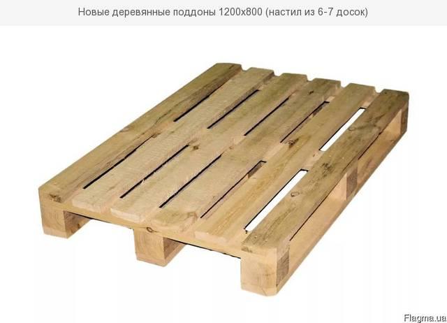 Поддоны деревянные потребность