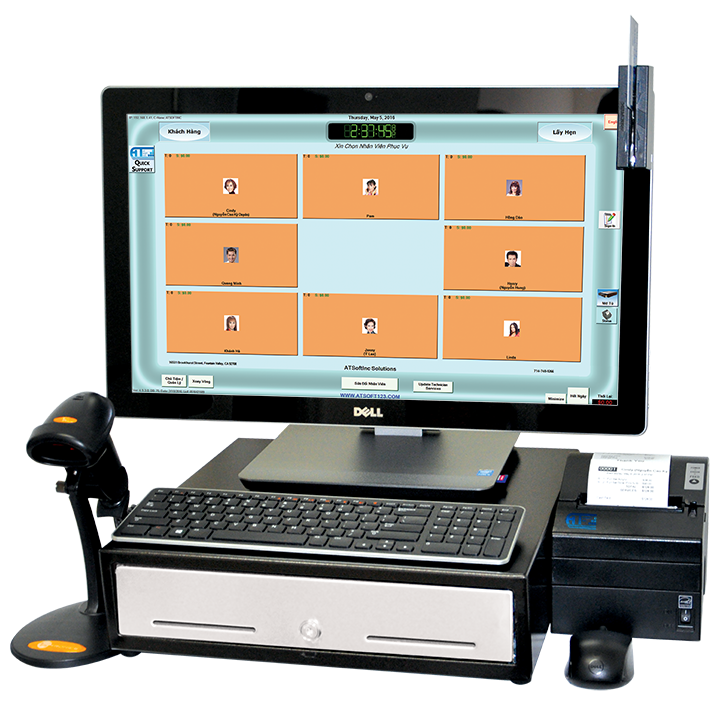 123 nails pos system