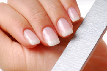 How should i file my nails
