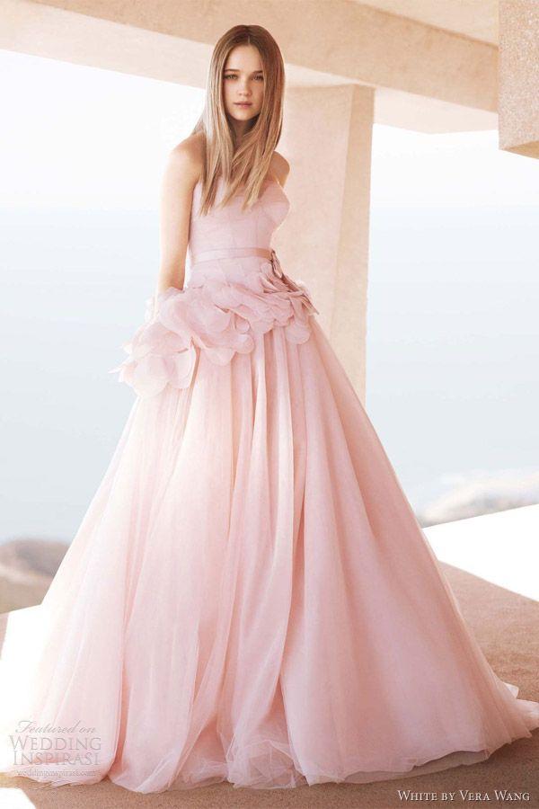 Vera wang pink dress