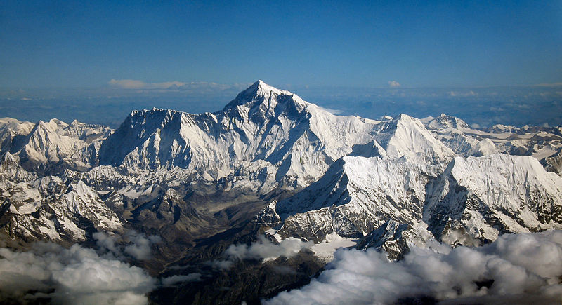 Джомолунгма самая высокая гора на земле