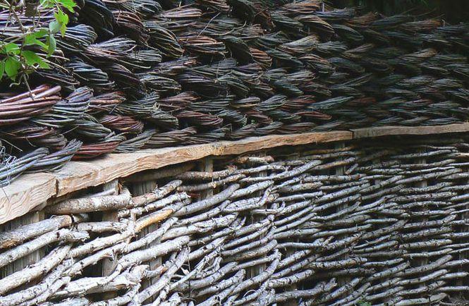 Как сделать заборчик из прутьев