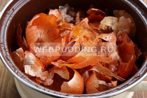 Вареное сало в луковой шелухе рецепты с фото