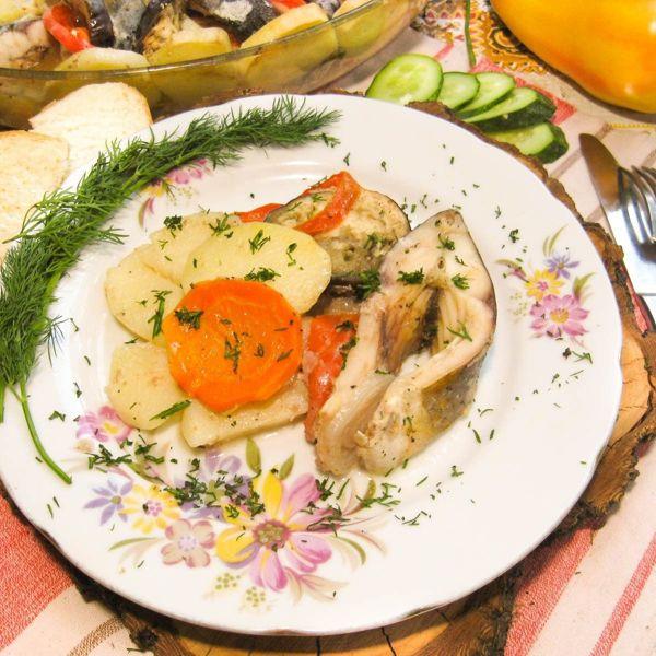 Рецепт запеченного карпа в духовке с картофелем